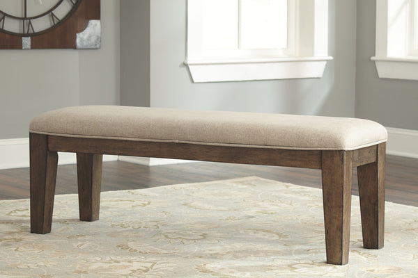 Flynnter - Medium Brown - Dining Room Bench