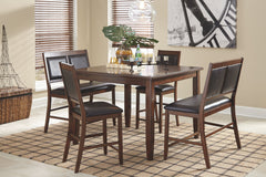 Meredy Table & 4 Barstools