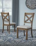 Moriville - Beige - Dining UPH Side Chair