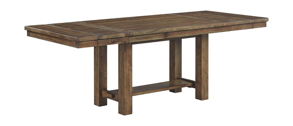 Moriville - Grayish Brown - RECT Dining Room EXT Table