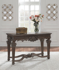 Charmond - Brown - Sofa Table