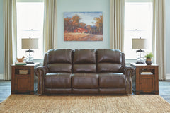Buncrana - Chocolate - PWR REC Sofa with ADJ Headrest