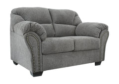 Allmaxx - Pewter - Loveseat