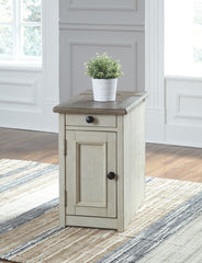 Bolanburg - Two-tone - Chair Side End Table