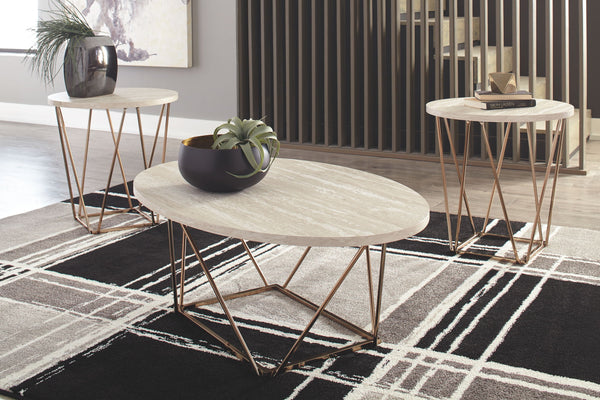 Tarica - Two-tone - Occasional Table Set (3/CN)