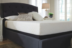 10 Inch Chime Memory Foam Queen Mattress& Foundation
