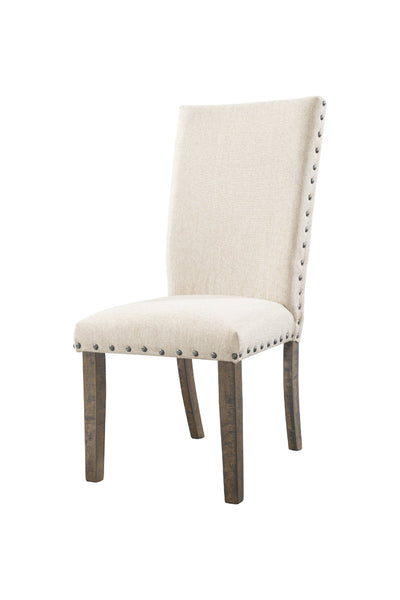 Shop Elements Jax Brown Upholstered Side Chair at  Raley's Home Furnishing