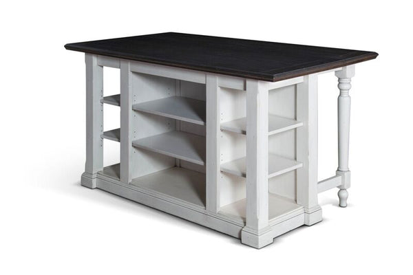 "Shop sunny designs Kitchen Island w/13"" Drop Leaf at  Raley's Home Furnishing"