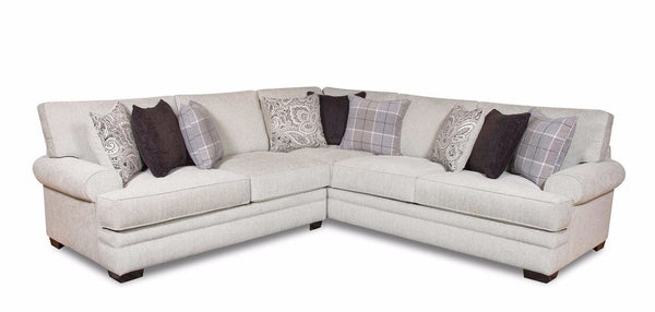 Shop Corinthian Griffin Menswear 2 Pc. Sectional -Right arm facing Sofa at  Raley's Home Furnishing