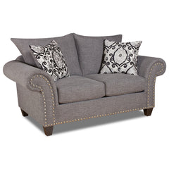 Shop Corinthian Paradigm Carbon Loveseat at  Raley's Home Furnishing