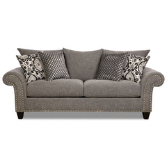 Shop Corinthian Paradigm Carbon Sofa at  Raley's Home Furnishing