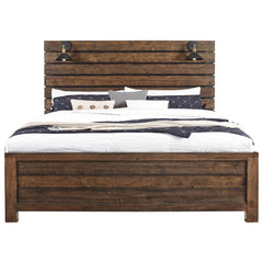 Shop Samuel Lawrence Dakota King Panel Bed w/ Lights at  Raley's Home Furnishing