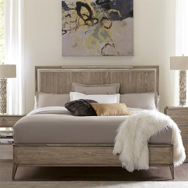 Shop Riverside Sophie King Panel Bed at  Raley's Home Furnishing