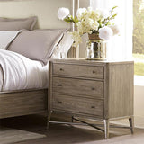 Shop Riverside Sophie 3 Drawer Nightstand at  Raley's Home Furnishing