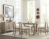 Shop Riverside Sophie Table & 6 Barstools at  Raley's Home Furnishing