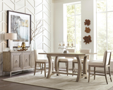 Shop Riverside Sophie Table & 4 Counter Chairs at  Raley's Home Furnishing