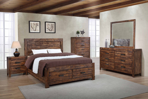 Shop Elements Warner Brown Nightstand at  Raley's Home Furnishing