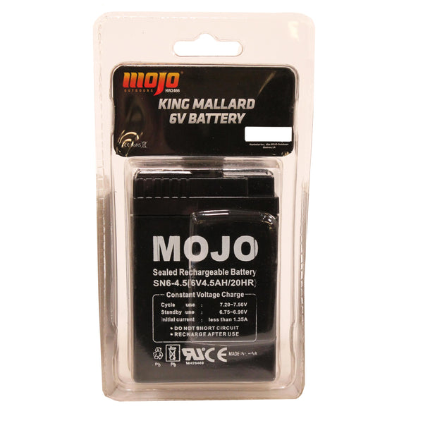 MOJO KING MALLARD Battery (6 volt)