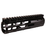 "7"" AR-15 Fr-Flt Slim Hand Guard w-Brl Nut"