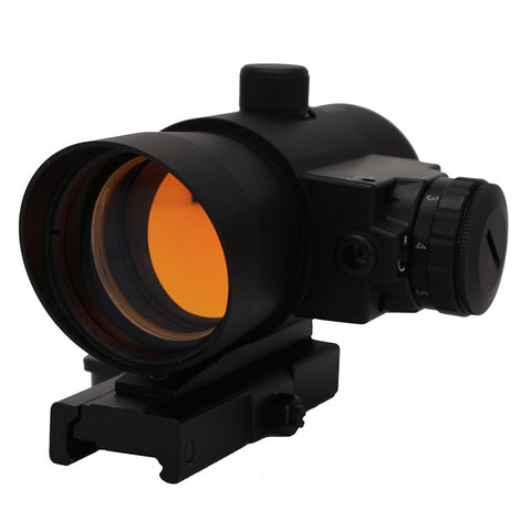 1X40 Red Dot Sight W- Built In Red Laser