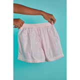 Nylon short shorts Peach