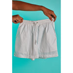 Nylon short shorts White