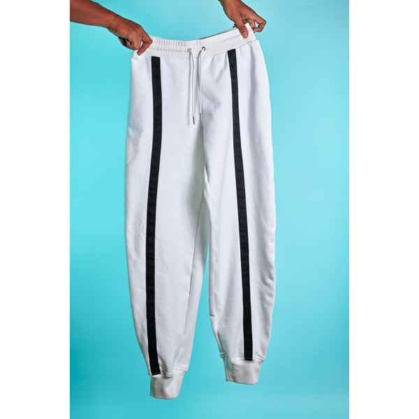 Kick butt sweatpants White