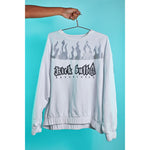 Flame sweatshirt White