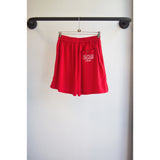 Vacation shorts red
