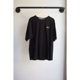 Rainbow logo t-shirt black