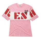 Strip t-shirt pink