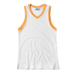 Oldschool basketball jersey white