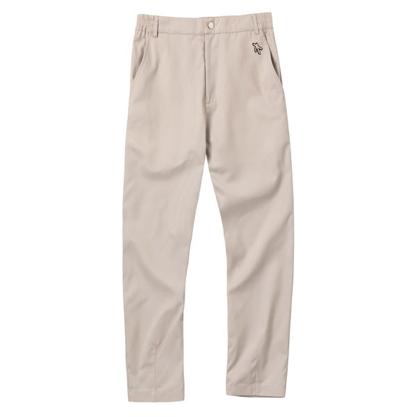 Broken basic pants khaki