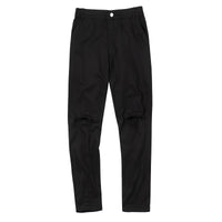 Broken basic pants black