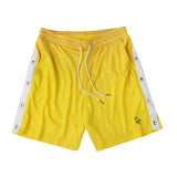 Gradient basketball shorts yellow/orange