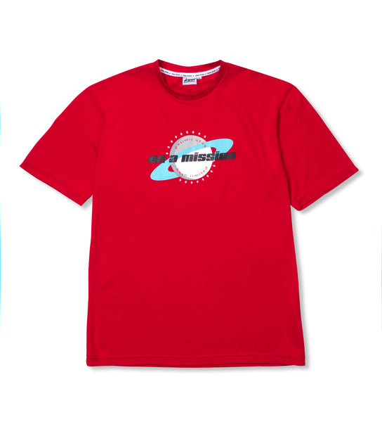 Mission t-shirt Red