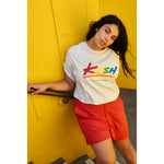 Rainbow big logo t-shirt