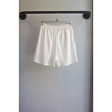 Vacation shorts white Linen