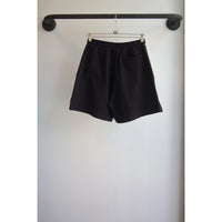 French terry shorts black