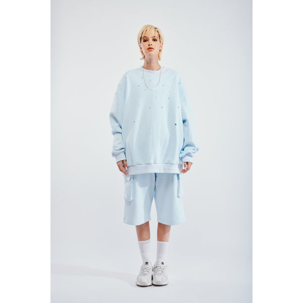 Luke sweatshirt baby blue