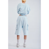 Luke shorts ice blue