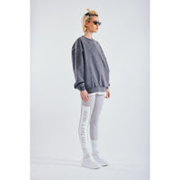 Winter leggings grey