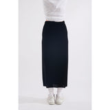 Stuff velour skirt black
