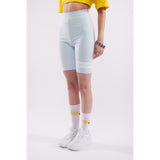 Winter short leggings ice blue