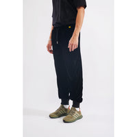 Stuff velour sweatpants black
