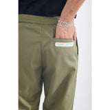 Basic winter pants army green