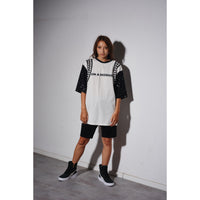 OB t-shirt White/black