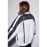 Science jacket Black/white