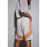 Flame jumpsuit White