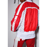 Science jacket Red/white